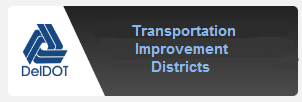 picture of a Deldot icon and the words- Planning and Development coordination Application