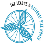 League of National Bike Month Logo