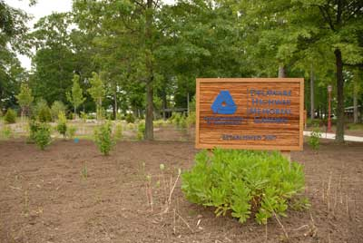 Photo of the Delaware Highway Memorial Garden at the Smyrna Rest Stop in Smyrna, Delaware