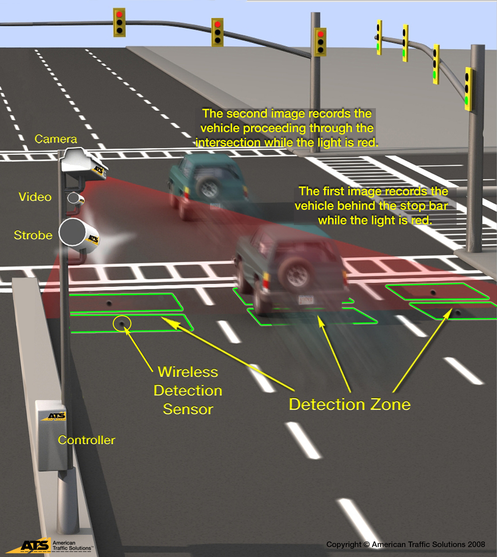 Red Light Camera Location Map Electronic Red Light Safety Program   Delaware Department of