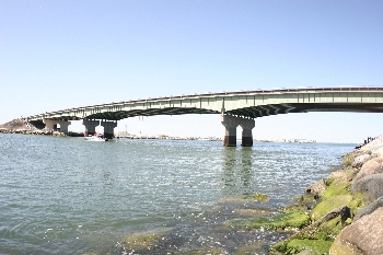 The current Indian River Inlet Bridge.